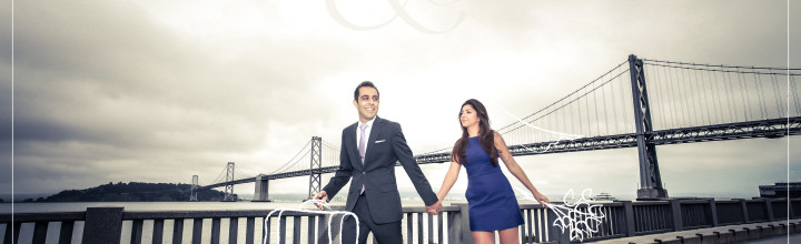 San Francisco Engagement for Tahmineh + Sobhan