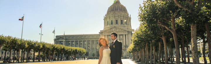 San Francisco Engagement Photographer – SF City Hall Wedding and Engagement Shoot – Lili & Farzam
